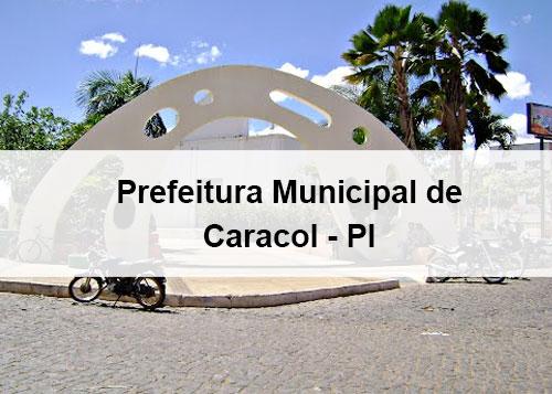 Lan�ado o edital do concurso p�blico municipal de Caracol - PI